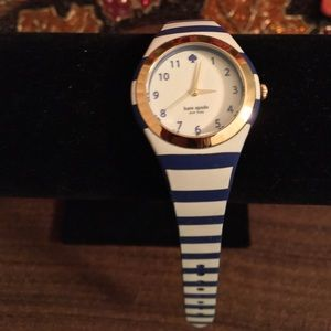 NWOT AUTHENTIC KATE SPADE RUMSEY STRIPED WATCH
